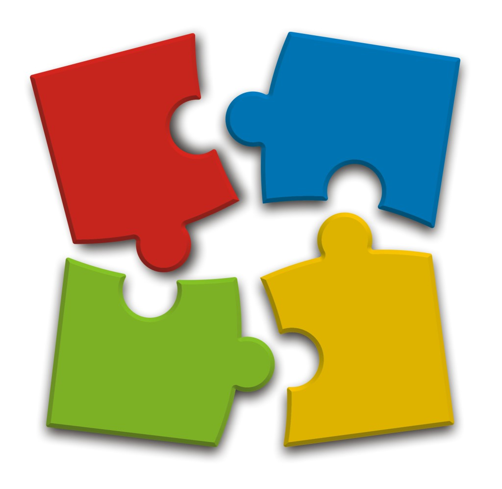 puzle 4 kolory
