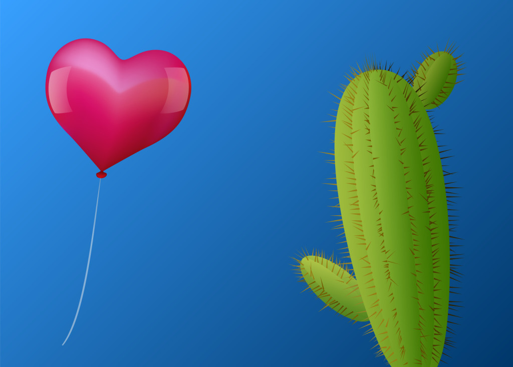 Balloon Heart Cactus